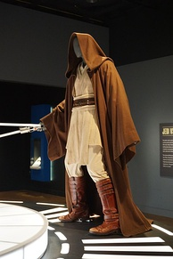McGregor's costume from Star Wars: Episode I – The Phantom Menace (1999) on display at the Detroit Institute of Arts