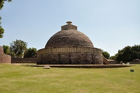 Stupa 3 - Sanchi Hill 2013-02-21 4268.JPG