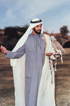 Zayed bin Sultan Al Nahyan is the first President of the United Arab Emirates and is recognized as the father of the nation.