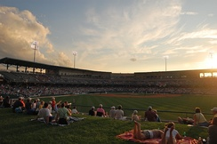 Victory Field, home to the Indianapolis Indians since 1996.