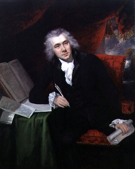 William Wilberforce by John Rising, 1790, pictured at the age of 29