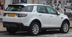 Land Rover Discovery Sport SE Tech (rear)