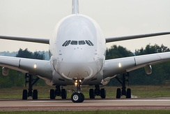 Airbus A380 at MAKS 2011, Russia