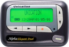 A dual-frequency Unication pager for use by EMS units