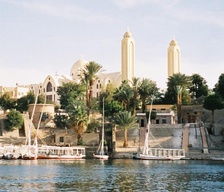 Aswan Coptic Orthodox Cathedral in Egypt