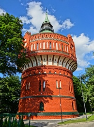 19th-century water tower