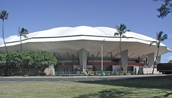 The Honolulu International Center Arena was the venue for Lei'd in Hawaii, a discarded live album