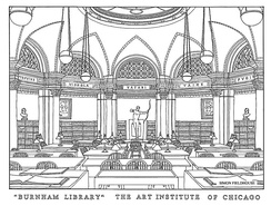 The Burnham Library was founded in 1912