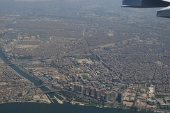Cairo grew into a metropolitan area with a population of over 20 million