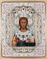 19th-century Russian icon of Christ Pantocrator.