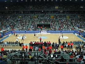 Cibona vs Partizan in ABA League Final in April 2010