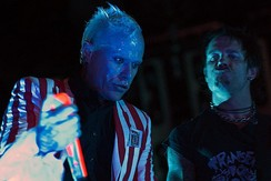 The English electronic dance music group The Prodigy was one of the most successful electronic music groups of the 1990s.