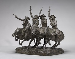 Off the Range (Coming Through the Rye), model 1902, cast 1903,National Gallery of Art