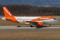 easyJet Airbus A319-100.