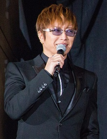 Gackt at the 28th Tokyo International Film Festival in 2015