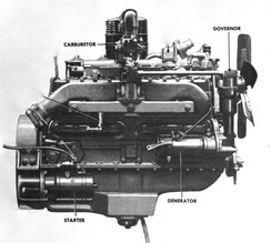 Hercules RXC engine