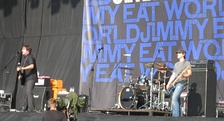 Emo band Jimmy Eat World performing in 2007