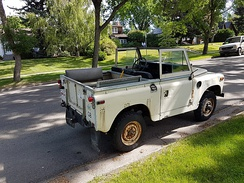 For many years, a SWB Land Rover was the shortest 7-seat vehicle available in Europe.