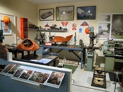 Cockerell's workshop reassembled at Lowestoft Maritime Museum