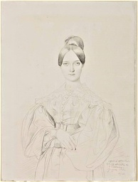 Portrait of Elise Thiers by Ingres (1834)