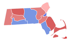 County results of the 1952 U.S. Senate election in Massachusetts