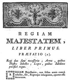 The Regiam Majestatem is the oldest surviving written digest of Scots law.
