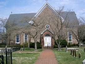 St. John's Church is the oldest English-speaking church in continuous existence in the United States and the only colonial structure in downtown Hampton.[11]