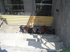 Homeless in the East Village, New York City