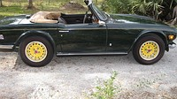 TR6 side view