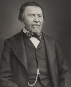 Tyee Dick, pictured here later in life, was one of Leschi's soldiers at the Battle of White River. After the war he would rise to the chiefdom of the Puyallup.