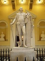 Jean-Antoine Houdon's statue, State Capitol in Virginia