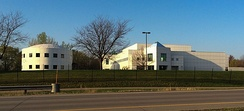Prince's home and recording studio, Paisley Park, in Chanhassen, Minnesota