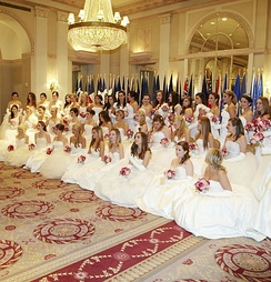 58th International Debutante Ball, 2012, New York City (Waldorf-Astoria Hotel)