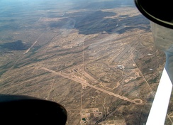 Aerial view of the Ford Arizona Proving Ground.