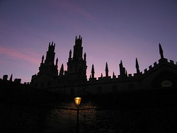 All Souls College at twilight