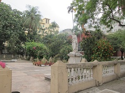 The Armenian church and cemetery in Dhaka