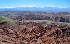 View from the Atacama Crossing 2011.