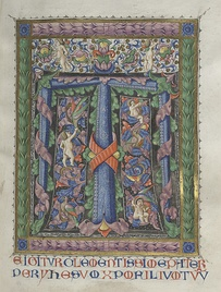 Various examples of pages from illuminated manuscripts