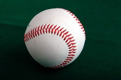 Ball speeds of 105 miles per hour (169 km/h) have been recorded in baseball.[5]