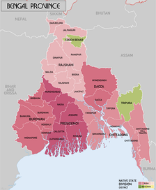 Administrative Divisions of Province following re-organisation