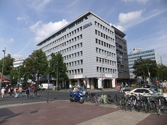 The Berlin offices of GEMA on Bayreuther Straße near Wittenbergplatz