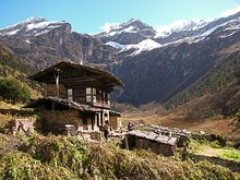 Farmhouse in Bhutan