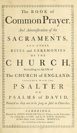 The Book of Common Prayer of 1662 included the Thirty-nine Articles.