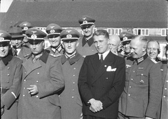 Wernher von Braun at Peenemünde Army Research Center