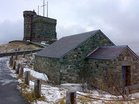 Cabot Tower located in St John's