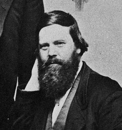 The only known photograph of Charles Francis Hall, in late 1870