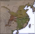 Three Kingdoms in 262, on the eve of the conquest of Shu, Wei, and Wu.