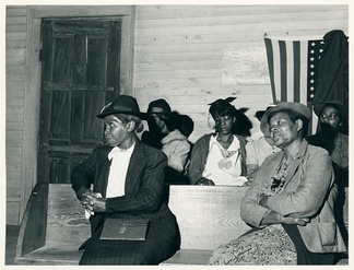 Church goers in Heard County, Georgia, 1941.