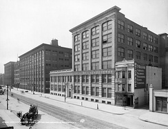 The Kodak factory and main office in Rochester, circa 1910