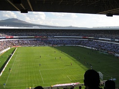 Interior of the Estadio Corregidora.
